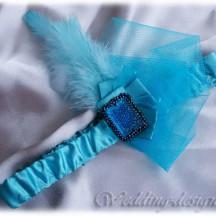 """Пов'язка для волосся """"Мафія-Blue"""""""