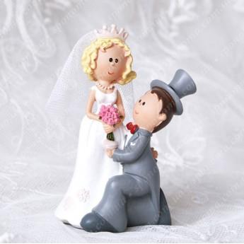 """Фігурка для весільного торту """"Міка-2"""""""