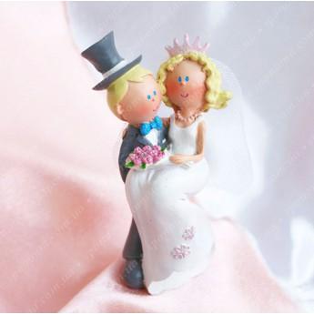 """Фігурка для весільного торту """"Міка"""""""