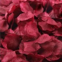 """Пелюстки троянд """"Бордо"""" (100 шт)"""