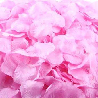 """Пелюстки троянд """"Рожеві"""" (100 шт)"""
