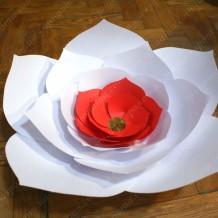 Паперові квіти: Клематіс 50 см