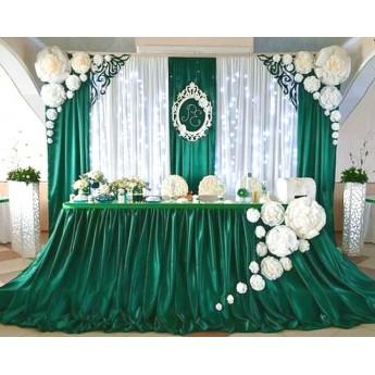 """Весільне оформлення залу """"Смарагд"""""""