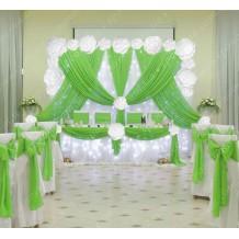 """Весільний декор """"Лейла Light Green"""""""