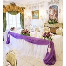 """Декор весільного президіуму молодят """"Енджел Віолет"""""""